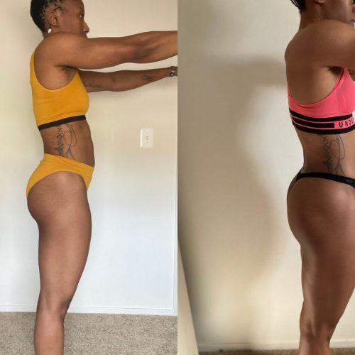 4 Week Progress