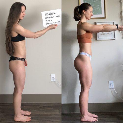 1 Year Transformation